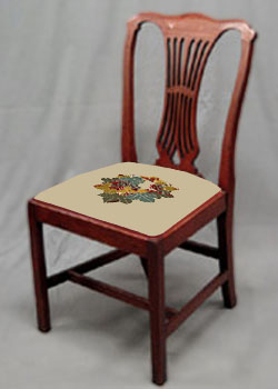 Dining Chair Seat Covers Inspired By My Love Of The French